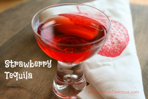 Strawberry Tequila on Shockingly Delicious
