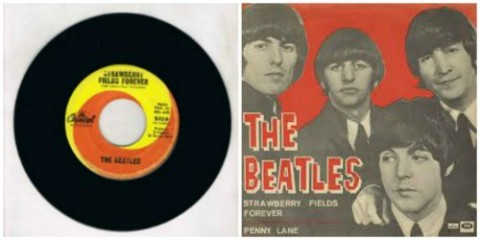 The Beatles and Strawberry Fields Forever on Shockingly Delicious