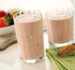 Smoothie with Linwoods Super Foods blend