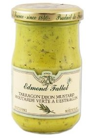 Tarragon Flavored Mustard by Edmond Fallot