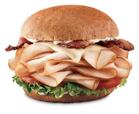 Arby's Grand Turkey Club on Shockingly Delicious