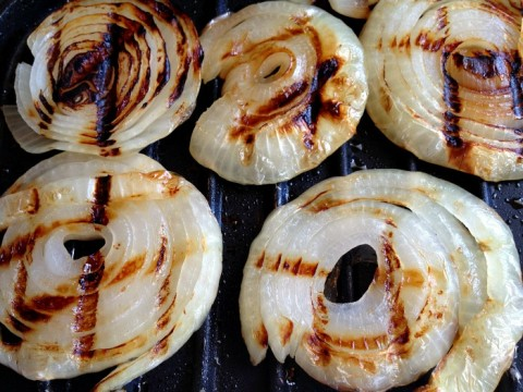 Grilled Onions on a George Foreman Grill
