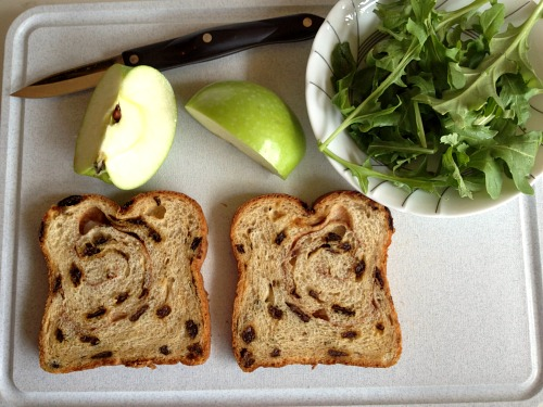 with my favorite bread for grilled cheese – cinnamon raisin swirl ...