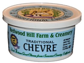Redwood Hill Farm Traditional Chevre on Shockingly Delicious