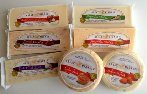 Great Midwest artisan cheeses on Shockingly Delicious