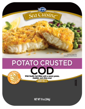 Sea Cuisine Potato Crusted Cod
