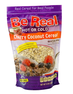Be Real Cherry Coconut Cereal