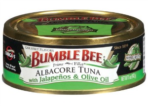 Bumble Bee Tuna with Jalapenos and Olive Oil