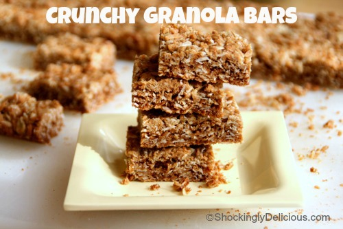 ... Crunchy Granola Bars. You know them — green box, classic flavor