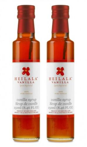 Heilala Vanilla Syrup 2 bottles