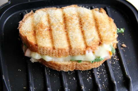 Sweet Hot Grilled Cheese Turkey Sandwich on Shockingly Delicious