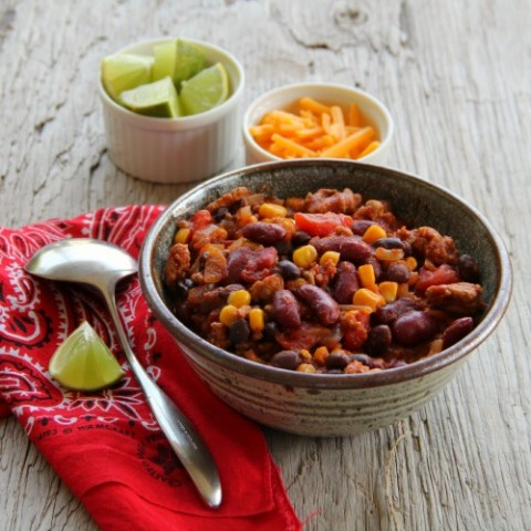Heart-y Turkey Chili on Shockingly Delicious