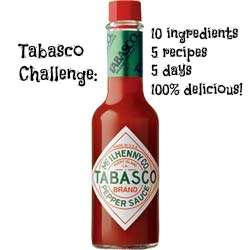 Tabasco Challenge on Shockingly Delicious