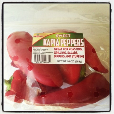 Sweet Red Kapia  Peppers on Shockingly Delicious