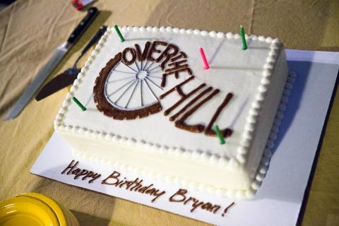 Bryan Gordon's 50th birthday cake Ken Scott Photo
