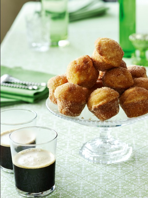 Cinnamon Doughnut Muffins on Shockingly Delicious