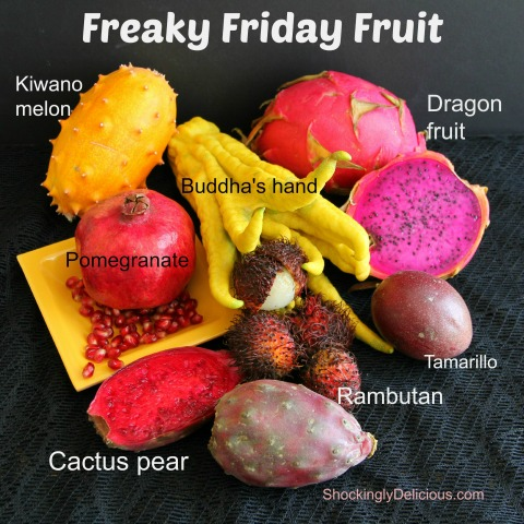 Freaky Fruits for Halloween |ShockinglyDelicious.com
