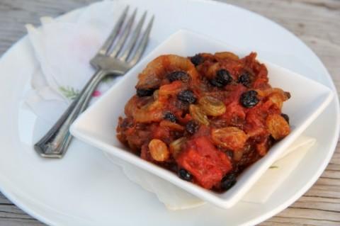 Sweet Hot Smoky Tomato Tabasco Chutney on Shockingly Delicious