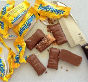 Butterfingers on Shockingly Delicious