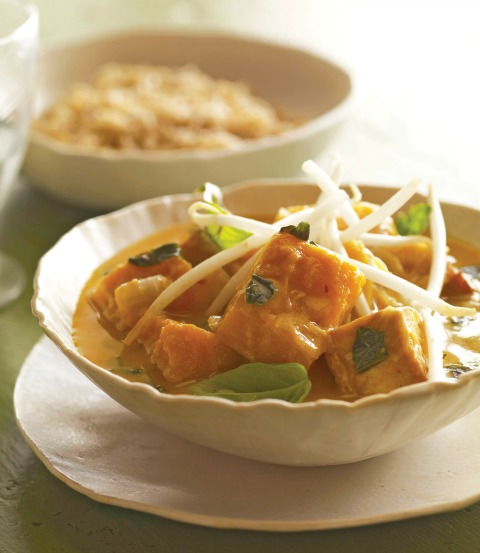 Thai-Style Squash Curry on Shockingly Delicious