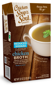 Chicken Soup for the Soul Reduced Sodium Chicken Broth
