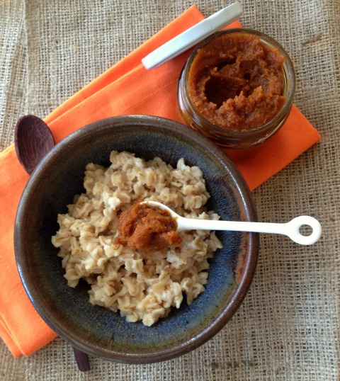 Quick Pumpkin Butter on the blog Shockingly Delicious