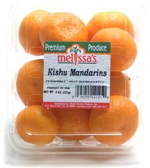 Kishu Mandarin clamshell