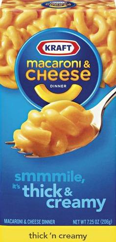 Kraft Macaroni & Cheese Thick & Creamy