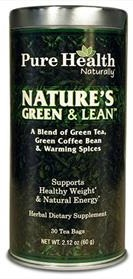 Pure Health Nature's Green & Lean Tea