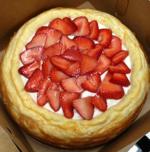 Blue Ribbon Meyer Lemon Mascarpone Cheesecake -- Special Occasion Dessert -- on the blog Shockingly Delicious