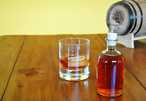 Barrel Aged Sazerac by Kitchy Cooking