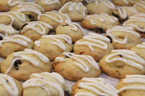Cranberry-Orange-Walnut Sugar Cookie from Fresh Food in a Flash