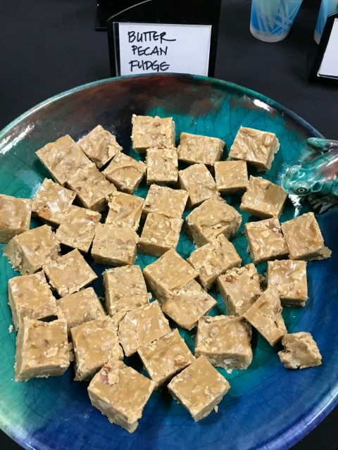Dorothy Reinhold's Butter Pecan Fudge won 2nd place