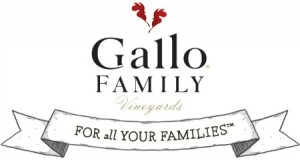 Gallo Family Vineyards logo on Shockingly Delicious