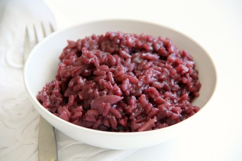 Red Wine Risotto for Christmas Dinner | www.ShockinglyDelicious.com