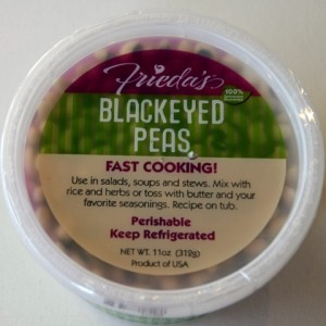 Frieda's Blackeyed Peas
