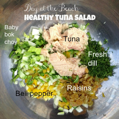 Day At The Beach Healthy Tuna Salad Shockingly Delicious