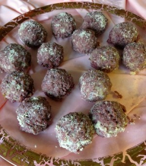 Red Wine Risotto Balls on Shockingly Delicious