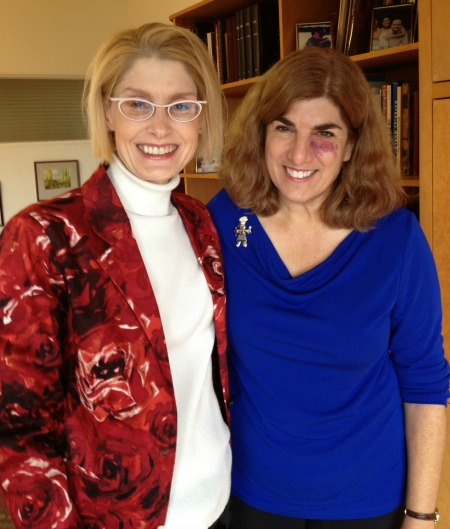 Kim Watkinson and Dorothy Reinhold Dec 2013