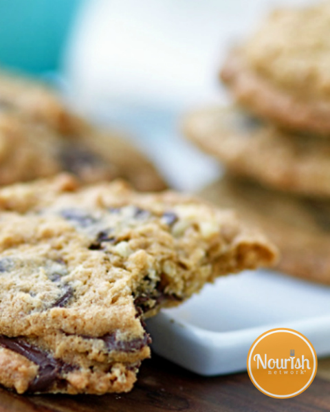 Oatmeal-chocolate-chip-cookies by Nourish Network