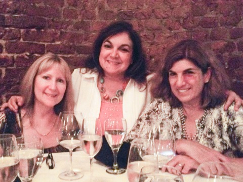 Renee Dobbs Isabel Laessig Dorothy Reinhold at Restaurant August Oct 2013