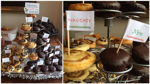 Rugelach & Vegan Cupcakes from Foodie Goes Healthy