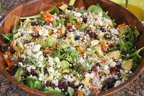 Seasonal Salad from Adventures with Nancy Rose