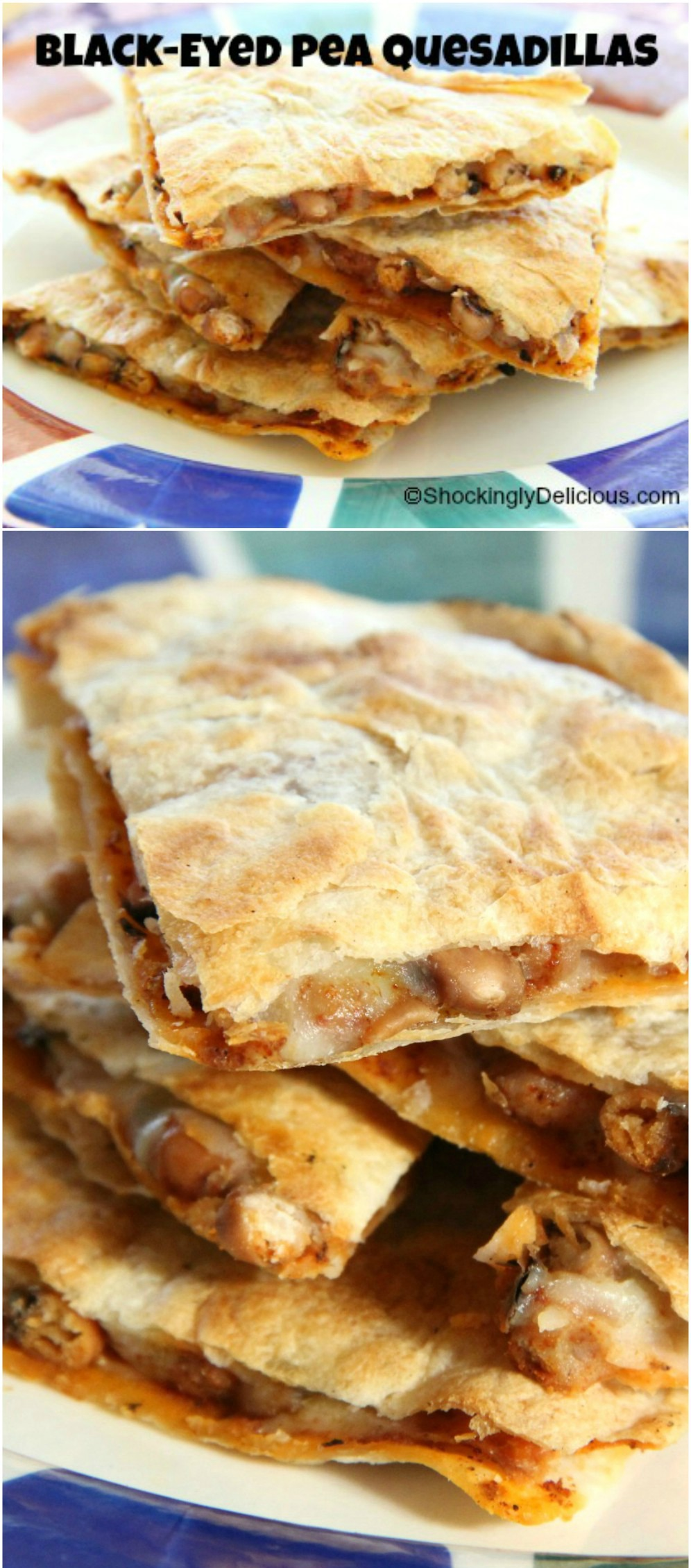 blackeyed-pea-quesadillas-on-shockinglydelicious-com