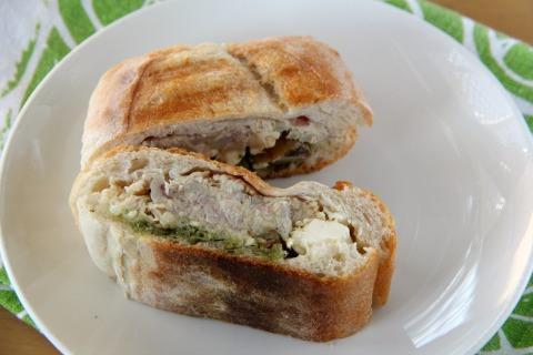 Deborah Fried's Chicken Salad Sandwich with Lemon Curd on Shockingly Delicious