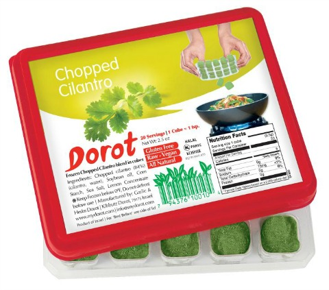 Dorot Cilantro on Shockingly Delicious