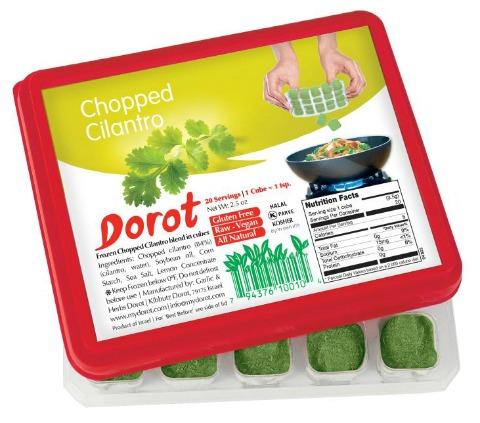 Dorot Cilantro on Shockingly Delicious
