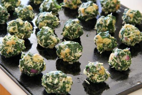 Spinach Balls | www.ShockinglyDelicious.com