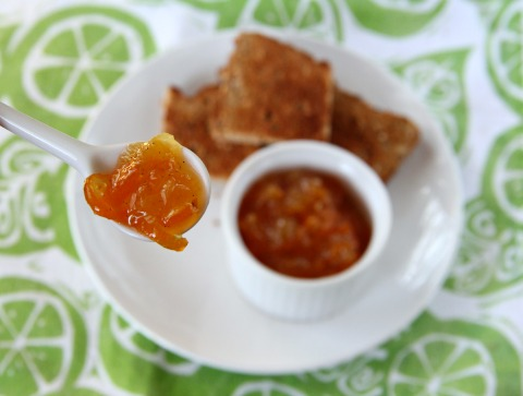 Kumquat Vanilla Marmalade | www.ShockinglyDelicious.com