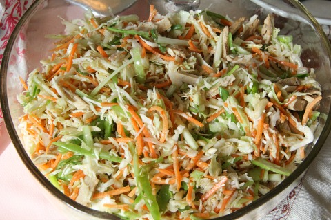 Chinese New Year Slaw from Adventures with Nancy Rose